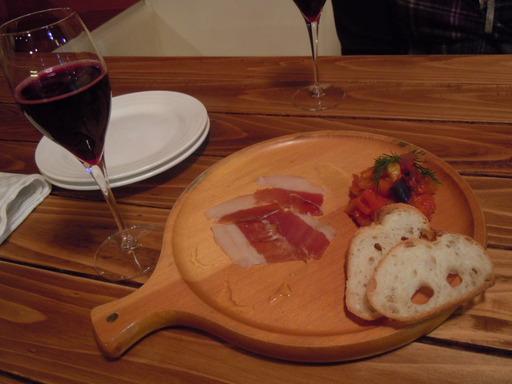 生ハムと5種野菜のラタトゥイユ