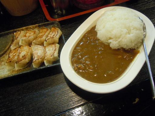 博多一口餃子+豚骨カレー