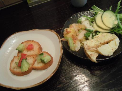 鎌倉野菜中心のお惣菜4種