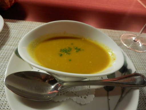 魚の裏ごしスープ