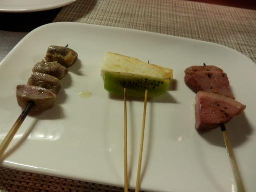 串焼き三種