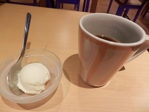 アイスとコーヒー